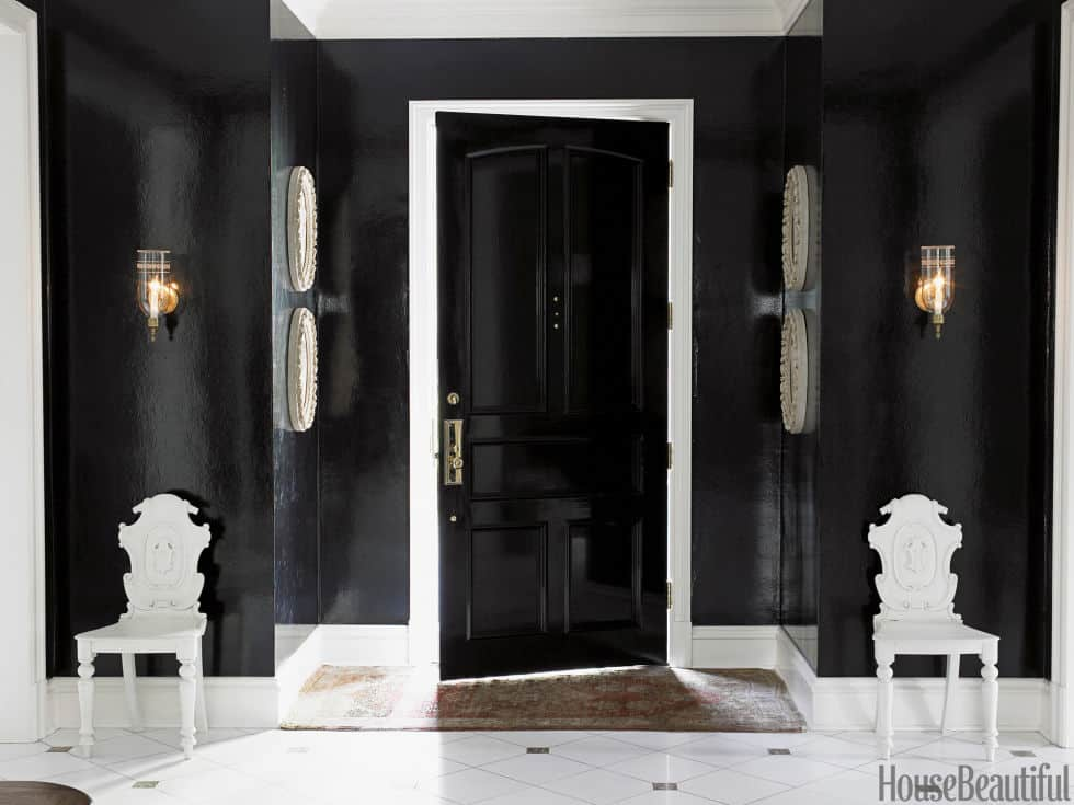 Black Laquered Entry