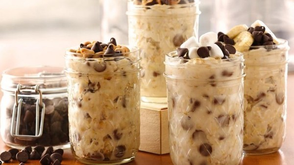 S'mores Overnight Oatmeal