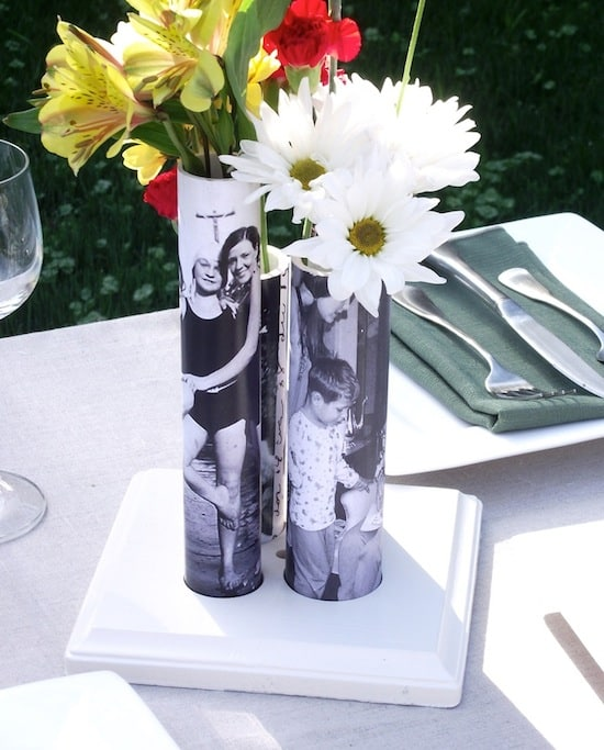 DIY Vase from a PVC Pipe