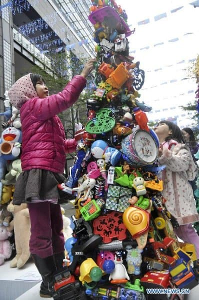 TREES FOR KIDS: Old Toy Tree