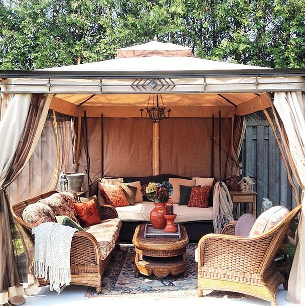 A Hint of Glamping