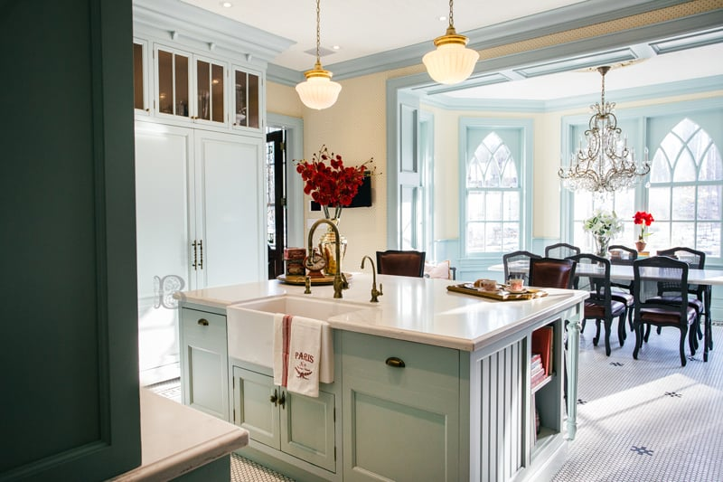 Pastel Cabinets