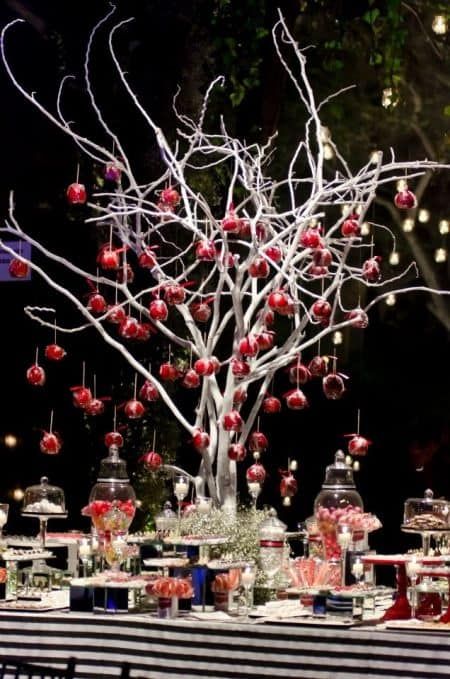 Wedding Tree Candy Apples