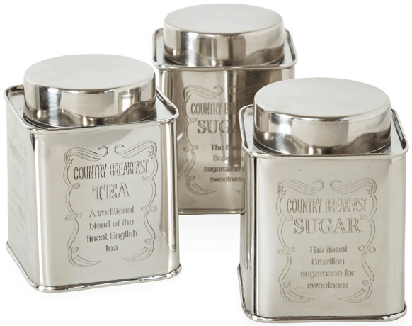Engraved Storage Tins