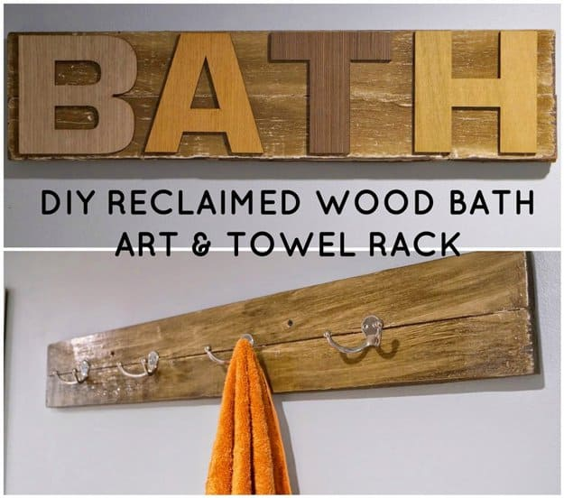 DIY Artwork Ideas For Your Bathroom