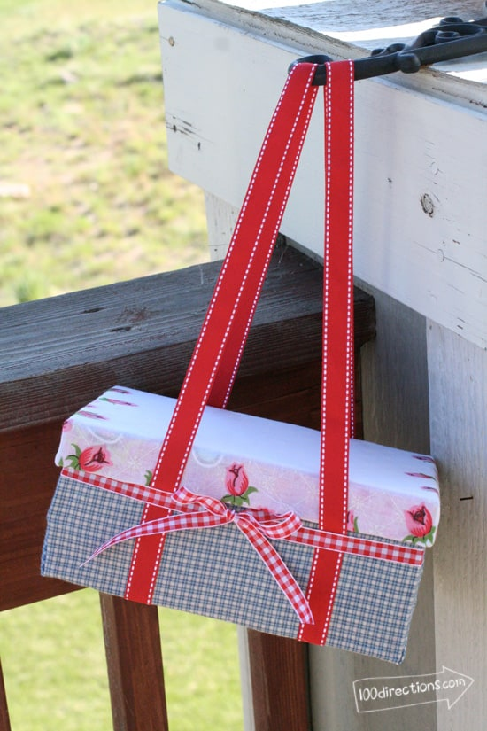 Shoe Box Picnic Basket
