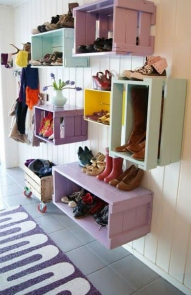 Clever Shoe Storage