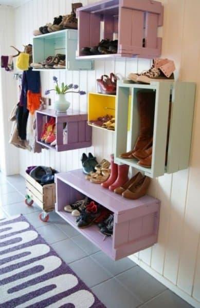Clever Shoe Storage