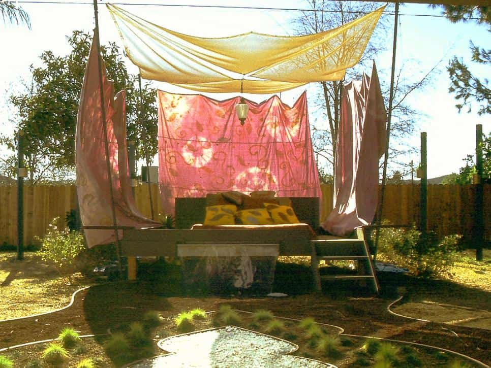 Backyard Meditation Pavilion