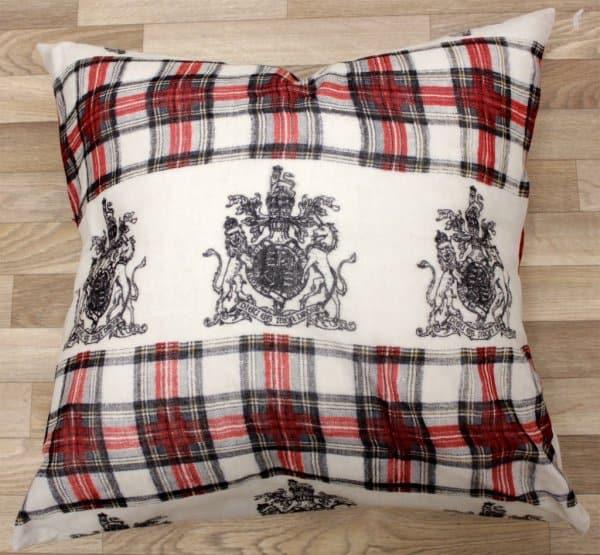 DIY Scarf Throw Pillow