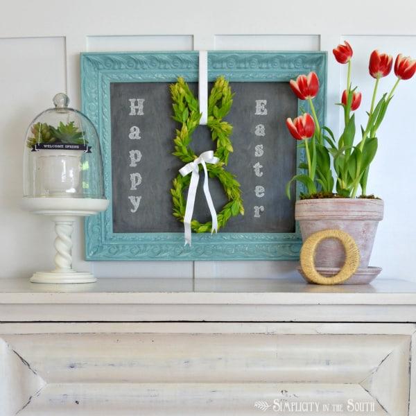 Refined Vintage Easter Decor
