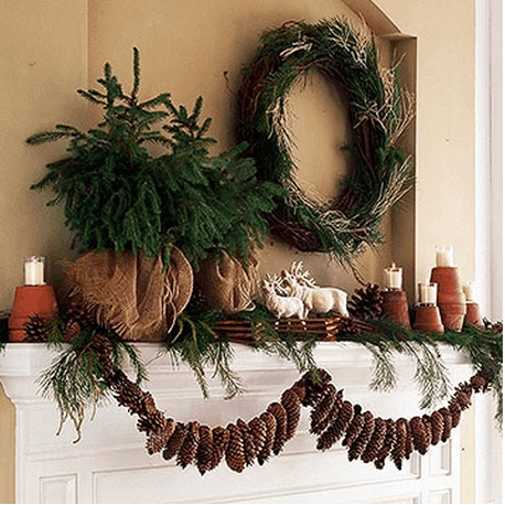 Natural Christmas Decorations Home Trends Magazine