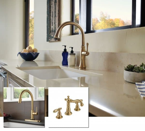 Trend watch 2014 five faucet trends for your kitchen and for Bathroom faucet trends