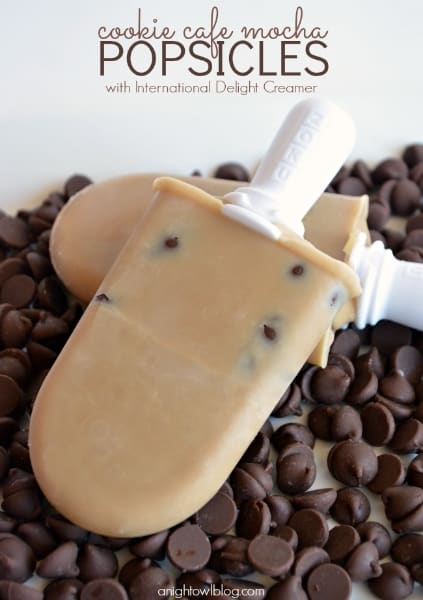 Cookies Cafe Mocha Popsicles