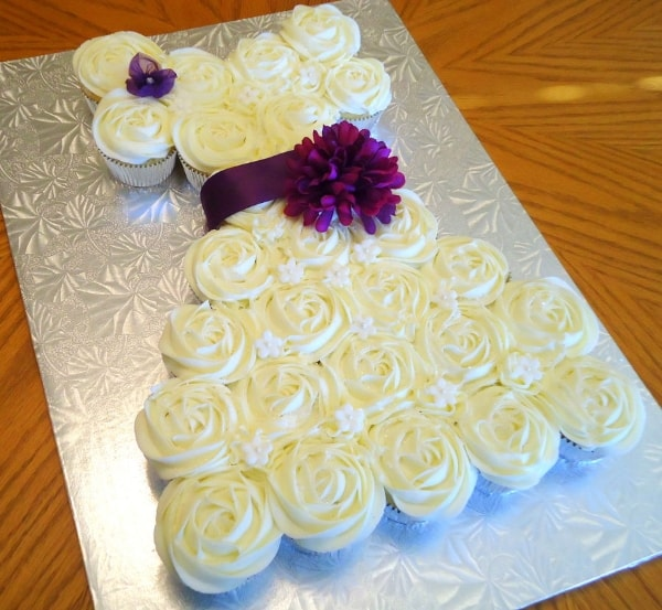 Cupcake Ideas For Wedding: Inspirational Gallery For Bridal Shower Cakes And Cupcakes
