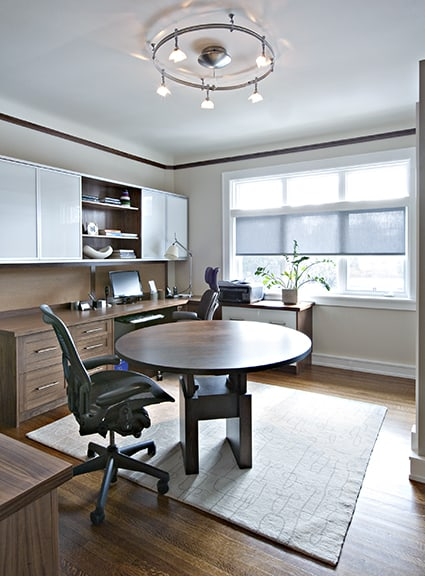 Fourteen fabulous office spaces home trends magazine for Functional home office