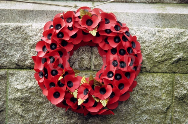 DIY Poppy Wreaths To Honor Our Veterans