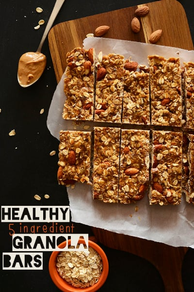 Healthy 5-Ingredient Granola