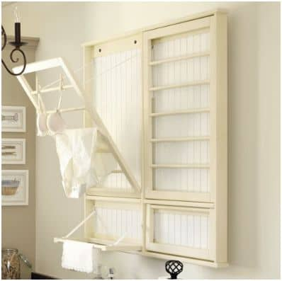 Laundry Room Drying Rack