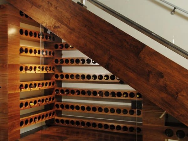 Twelve unique staircase storage ideas for small spaces - Wine cellar designs for small spaces ...