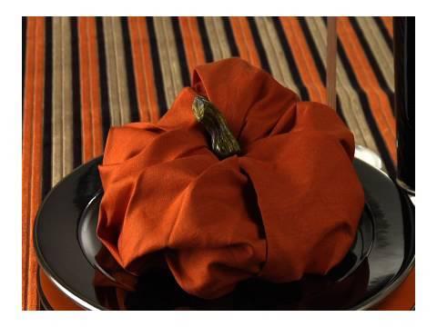 Napkin Pumpkin