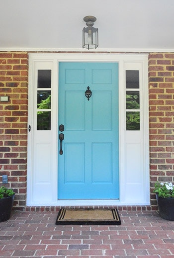Change the locks on the exterior doors