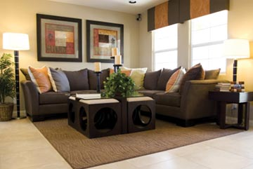 Savvy Living Room Decorating - Home Trends Magazine