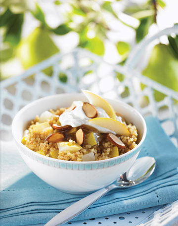 Pear Quinoa Breakfast Bowl