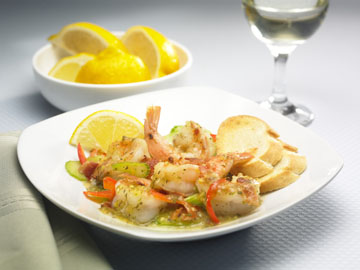 Lemon and Herb Shrimp