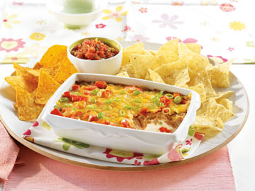 Hot Bottomless Bean Dip
