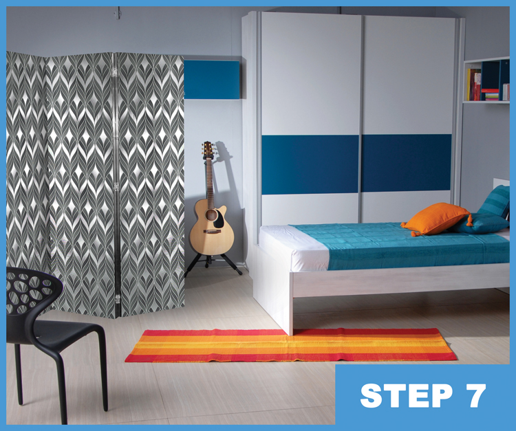 Build your own room divider marc and mandy show for How to make your own room divider