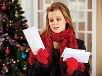 manage holiday debt