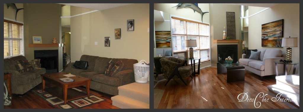 Rearranging Furniture Before And After The 2nd before and after ...