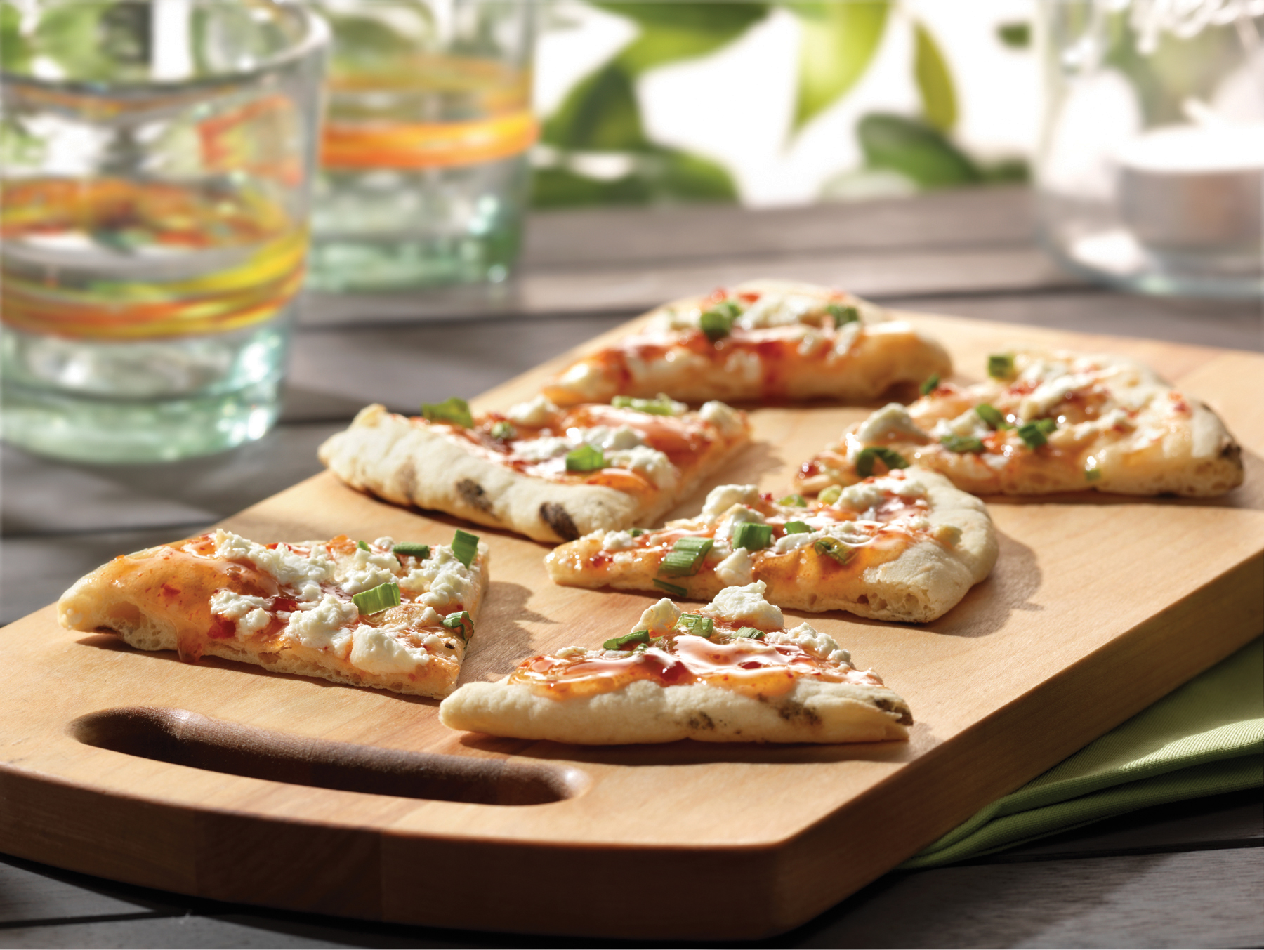 Grilled Sweet Chili Flatbreads