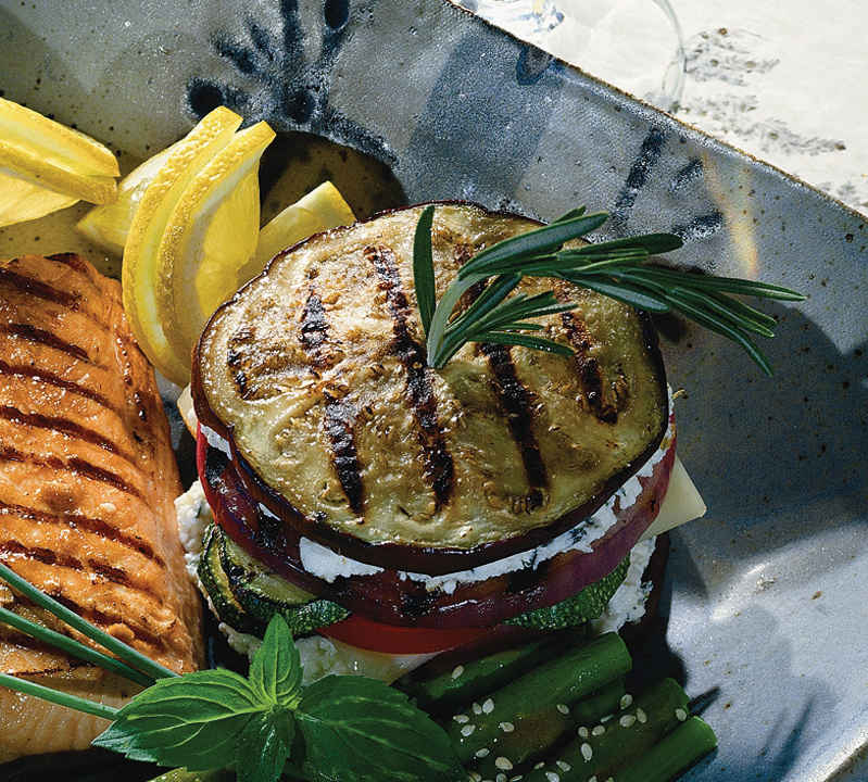 Grilled Vegetable Napoleons