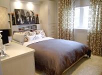 glen peloso condo bedroom