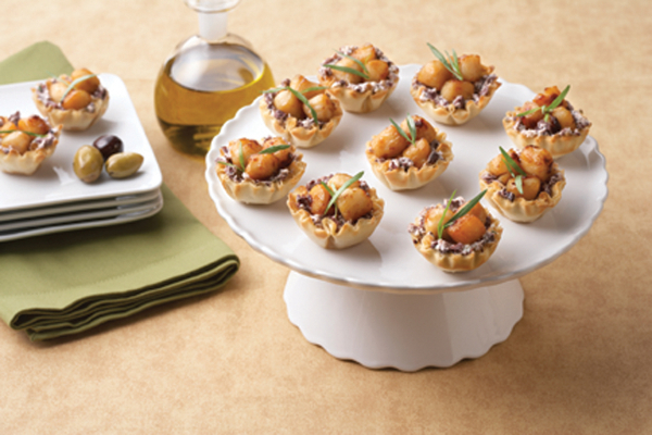 Scallop Appetizer Cups