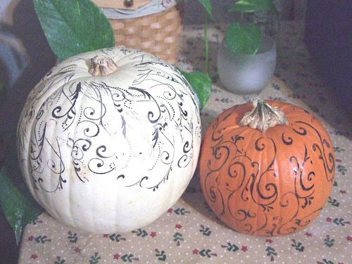 Diy Painted Pumpkins Home Trends Magazine