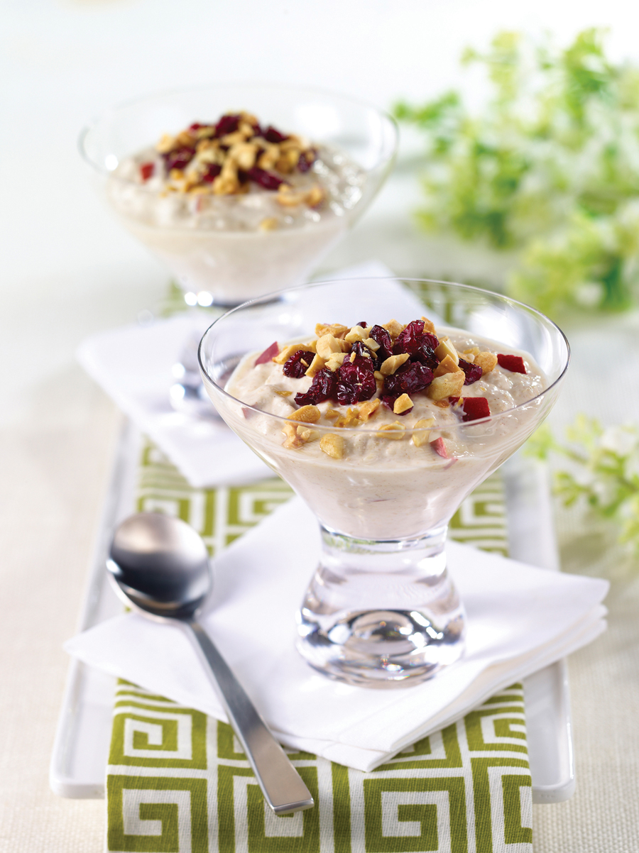Overnight Peanut and Pear Muesli