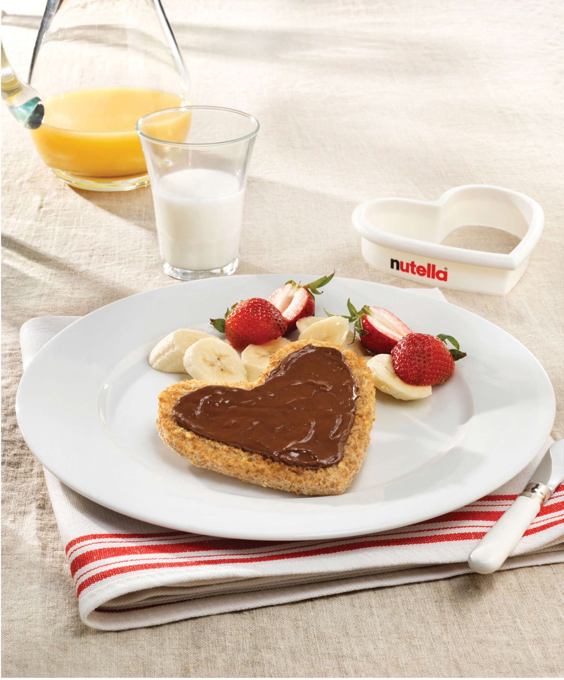 Nutella Breakfast Slices Home Trends Magazine