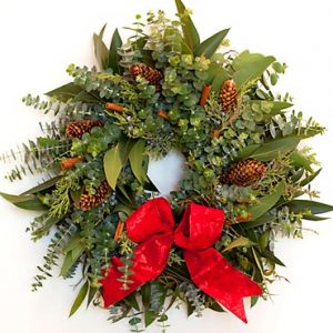 Artisan Christmas Wreath