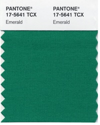 pantone emerald green colour of the year 2013