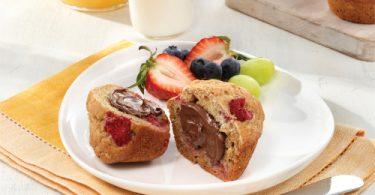 Nutella Breakfast Muffins