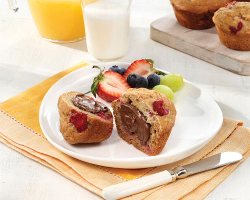 Nutella Breakfast Muffins
