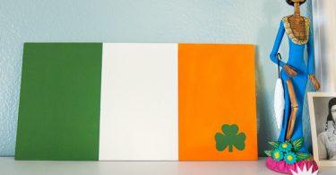 DIY Irish Flag