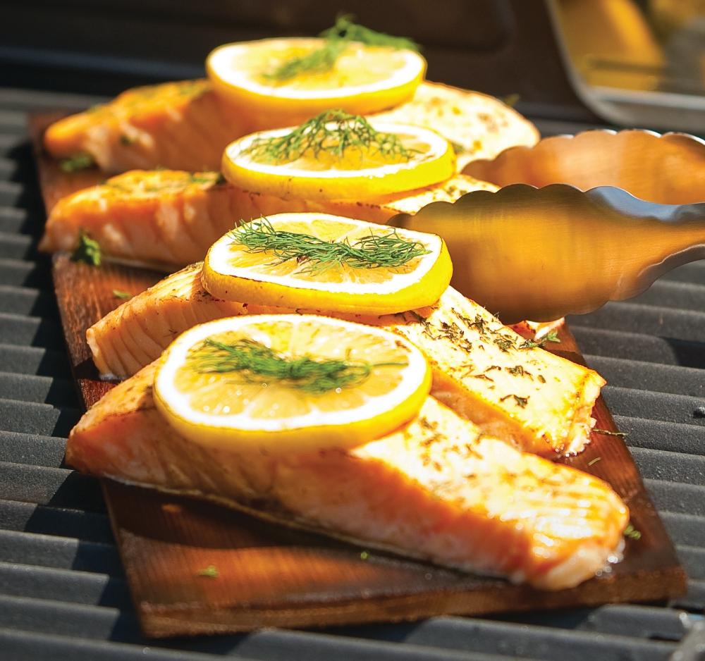 Tahini-Sesame Salmon