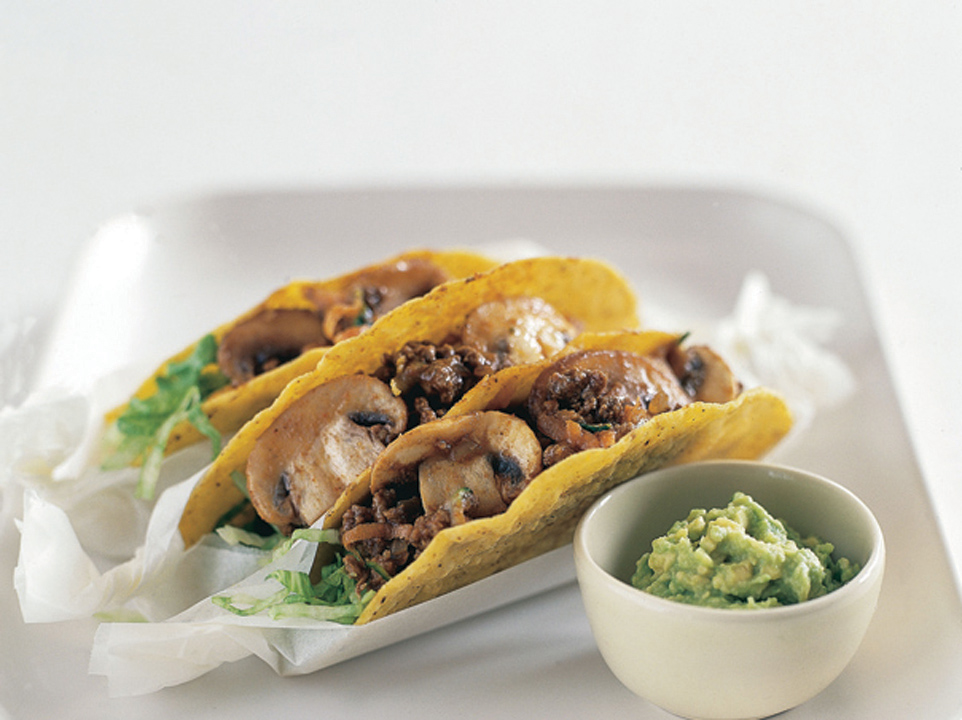 Mushroom & Vegetable Tacos