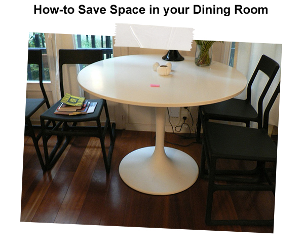 Dining Room Space Saving