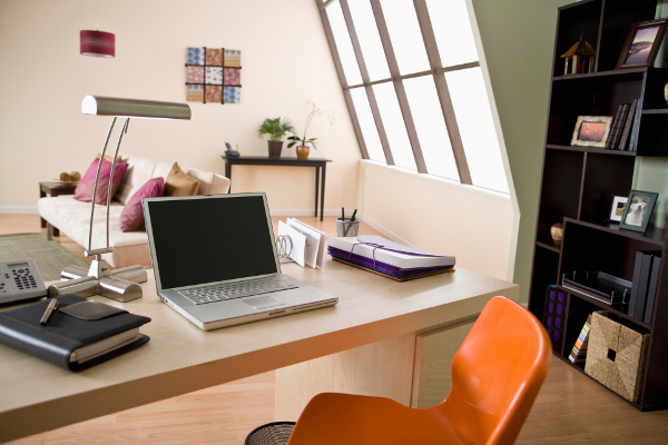 Choosing the best paint colour for a productive inspiring for Inspiring office spaces