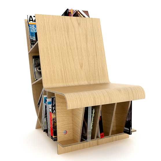 Resource Furniutre - Bookseat Maple copy